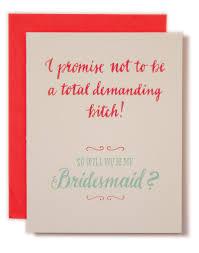 will you be my bridesmaid will you be my bridesmaid ladyfingers letterpress