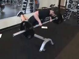 Bench Barbell Row Allstrengthtraining Com Chest Supported Barbell Row Youtube