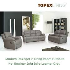 Leather Reclining Sofa And Loveseat Recliner Sofa Loveseat Recliners Chair Leather Grey Sofa Set