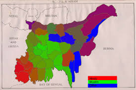 Religions Of The World Map by How Did Partition Change The Religious Map In Bengal South Asia