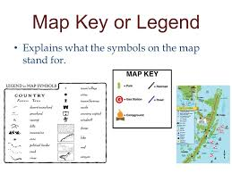 what is a map legend maps and legends ppt