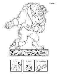 disney u0027s beauty and the beast printables coloring pages and