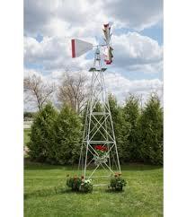 weathervanes eighteen foot ornamental aluminum windmill