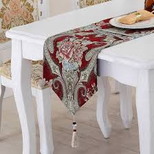 european luxury table runner chinese style tablecloth american