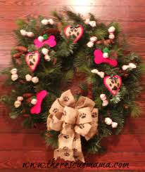 Dog Themed Home Decor Decorating With Wreaths For Christmas Idolza