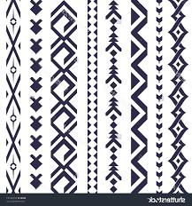 aztec tribal pattern tattoos tribal tattoo vector pattern textile