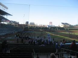 Chicago Cubs Seat Map by Wrigley Field Section 124 Chicago Cubs Rateyourseats Com