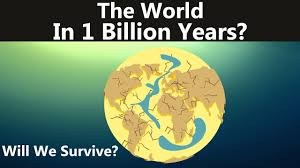 Map Of The World 1 Million Years Ago by This Is What Will Happen In The Next Billion Years Youtube