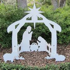 Outdoor Lighted Nativity Set - best 25 outdoor nativity scene ideas on pinterest outdoor