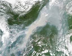 Canada Wildfire Satellite by Nasa Images Capture Worst Siberian Wildfires In 10 000 Years