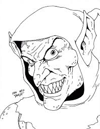 green goblin coloring pages printables virtren com