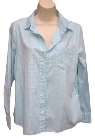 j crew blouses j crew blue green dots blouse button front pin dot with
