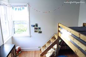 ana white big boy toddler loft bed diy projects