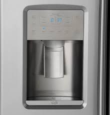 Samsung Counter Depth Refrigerator Side By Side by Ge Czs22mskss 36 Inch Counter Depth Side By Side Refrigerator With