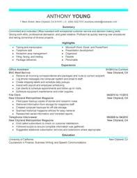 Sample Chronological Resume by A Sample Chronological Resume View More Http Www Vault Com