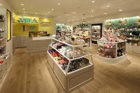 store decoration manufacturer supply candy store showcase for wood candy store