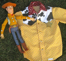 Woody Halloween Costumes Cowboy Woody Shirt Costume Toy Story Boys Madibethcreations