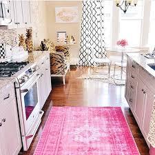 Retro Kitchen Rugs Creative Of Pink Kitchen Rug Retro Kitchen Rug Roselawnlutheran