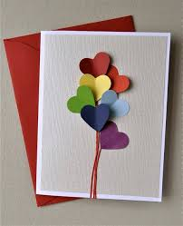 easy diy u201cheart balloon u201d greeting card heart balloons
