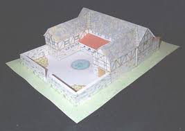 ideas for ks2 roman project pompeii villa pop up paper model by ellen mchenry simple