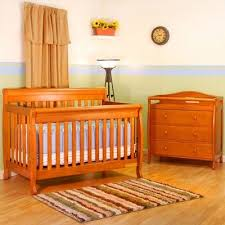 Pecan Changing Table Jaden Convertible Crib And Grace I Changing Table In