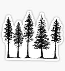 tree stickers redbubble