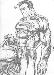 superman pencil drawings superman rudyvasquez deviantart
