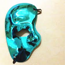 bulk mardi gras masks online shop wholesale 8colors phantom of the opera half white mask