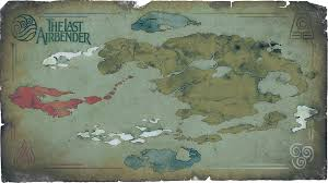 Old World Map Poster by Very Old Looking Avatar Map Maps Of Fantasy Worlds Pinterest