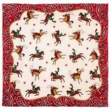 cowboy wrapping paper cowboy bandana 22 x 22 hobby lobby 1372937
