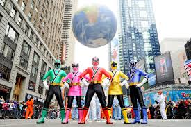 henshin grid power rangers samurai in macy u0027s thanksgiving parade