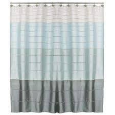 Shower Curtain Striped Striped Shower Curtains Shower Accessories The Home Depot