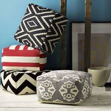Ikea Pouf Ottoman Weekend Project Make Your Own Floor Pouf From 3 Ikea Mats