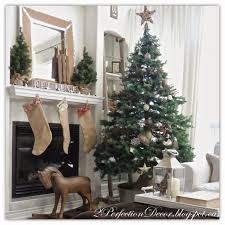 Country Christmas Home Decor by 2perfection Decor Adding Woven Jute Ribbon To Our Christmas Tree