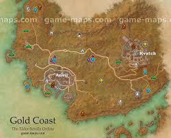 gold coast zone map added with the dark brotherhood dlc elder