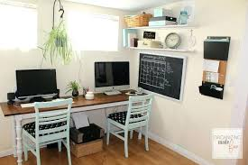 2 desk home office two person desk home office furniture image of home office desk