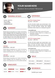 modern resume format 2016 hongdae free modern resume template red classic resume templates