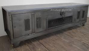 meuble de metier industriel tv industriel