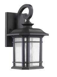 Exterior Wall Sconce Lighting Ch22021bk17 Od1 Franklin Transitional 1 Light