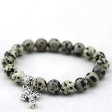 catholic bracelets catholic bracelets 8mm bracelet cross pendant