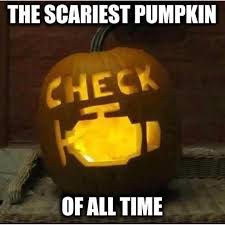 Pumpkin Carving Meme - check engine light pumpkin crafts pinterest car humor humor