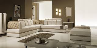 Modern Bonded Leather Sectional Sofa Casa 5013 Modern Bonded Leather Sectional Sofa