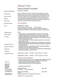 c counselor resume sle mental health counselor resume resume sle