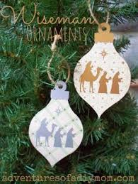 periodic table ornaments set of 5 elements wooden