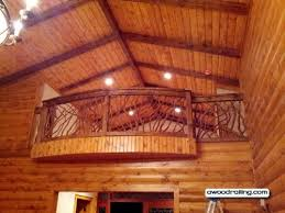 curved railing pictures and building instructions