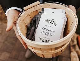 wedding program basket 5 wedding program template ideas for each taste wedding forward