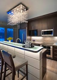 Kitchen Cabinet Undermount Lighting by Backlit Countertop Kitchen Contemporary With Cabinetry Marble