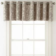 Chocolate Brown Valances For Windows Window Valances U0026 Window Toppers Jcpenney