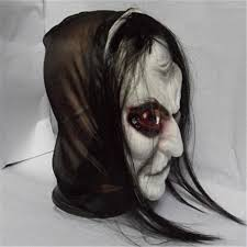 scary mask horror mask hair ghost scary mask props grudge
