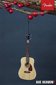 6 fender pd 1 dreadnought acoustic guitar ornament axe heaven